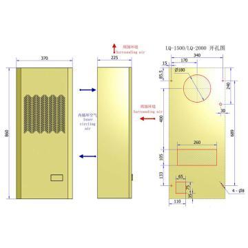 上海永翼 电柜冷气机,LQ-2000