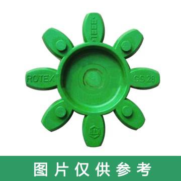 开天KTR ROTEX-GS弹性体,ROTEX-GS65-64SHD,绿色