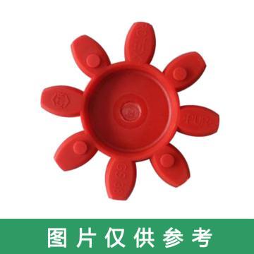 開天KTR ROTEX-GS彈性體,ROTEX-GS28-98SHA,紅色