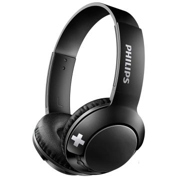 飛利浦(Philips) 頭戴式藍牙耳機 SHB3075BK 黑色