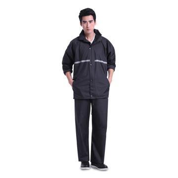 燕王 分體雪克反光雨衣套裝,深藏青,男女款,368-L