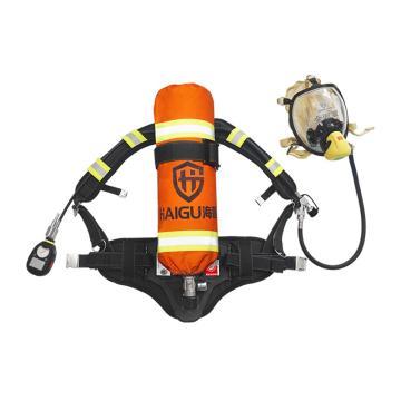 海固 RHZK6.8 正压式消防空气呼吸器,3C认证
