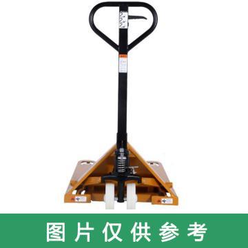 西域推荐 手动液压搬运车,载重(T):2,货叉内宽度(mm):550,蓝色