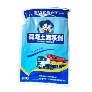 蚌埠龙湖 混凝土润泵剂,RG-H高分子混凝土润泵剂,300g/袋,100袋/箱