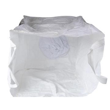 西域推荐 吨袋,尺寸(cm)100*100*100,两吊环,大开口下料口,承重:1.5t,上口1.2米带子