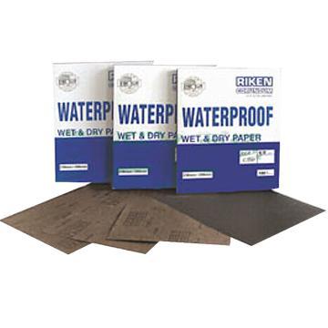 理研耐水砂纸,C35PM黑纸,320#,100张/包