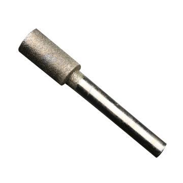 柱形金刚砂磨头,6*8,柄径6mm,长度60mm