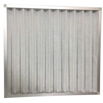 四季海源 金属框板式空气过滤器,G-GTB-G4-595*595*46,含安装调试,废旧过滤器垃圾处理