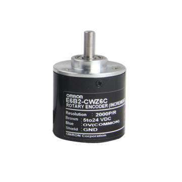 歐姆龍 旋轉編碼器,E6B2-CWZ6C 2000P/R/5-24VDC