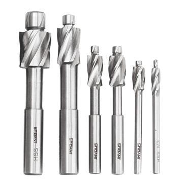 INVOUS 6件套高速钢平底锪钻,M3-M10,IS781-82541