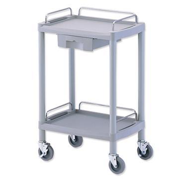 亚速旺 实验室仪器设备配套移动车,全塑料材质,防磕碰,Y101E 1台,8-8720-01