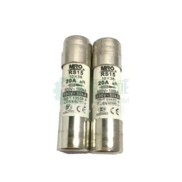 茗熔MIRO 圆筒帽型熔断器 RS15 aR 500V/690V/0.5A 20个/盒 快速型