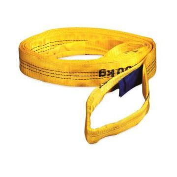多来劲 扁吊带,扁平吊环吊带 3T×1.5m 黄色 安全系数7倍,0561 9782 015