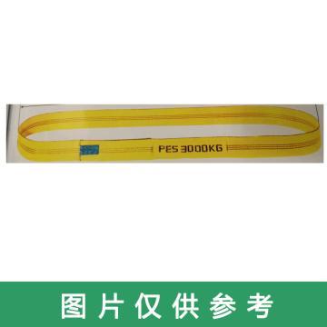 多来劲 扁平环形吊带,1T×1m 周长2m,紫色,安全系数7倍,0542 2102 01