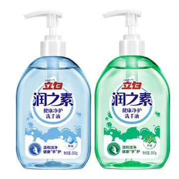 润之素抑菌洗手液,500g 24瓶/箱
