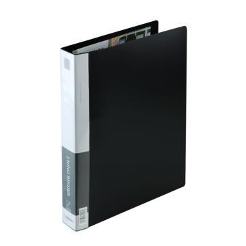 齊心 文件夾, 辦公必備 ,A4,1.5寸2孔D型夾,黑TC532A-D 單個