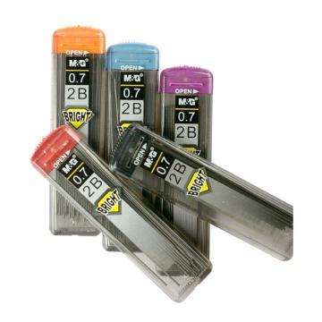 晨光 M&G 2B铅芯,SL-301 0.7mm (黑色) (管)