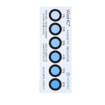 威胜 WiseHIC-1系列氯化钴湿度指示卡,38×102×0.45mm,200片/罐