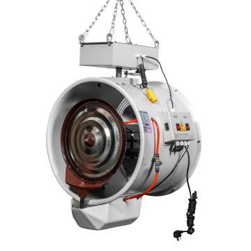 貝菱 懸掛式離心霧化工業加濕器,SC-LX-XG,220V,650W,射程10米,水泵供水,適用350m2