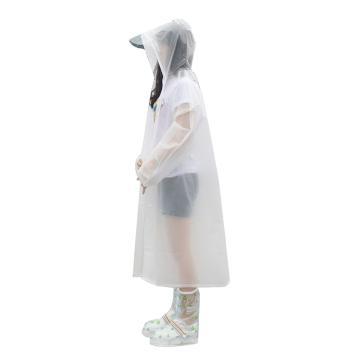 燕王 EVA半透明時尚雨衣,8808-M(150-165)