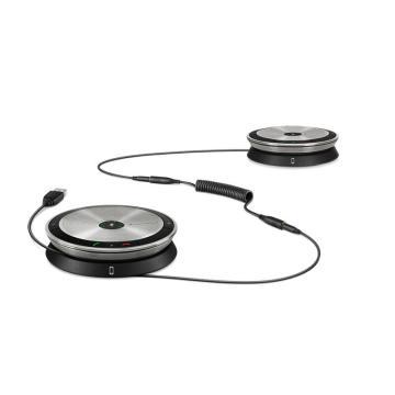 森海塞爾(Sennheiser) SP220 MS全向麥克風 便攜式全向麥 降噪視頻會議電話 小型會議室 Skype認證
