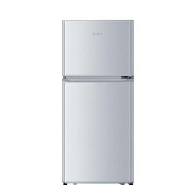 海尔 118L迷你双门冷冻冷藏电冰箱,BCD-118TMPA,直冷,三级能效