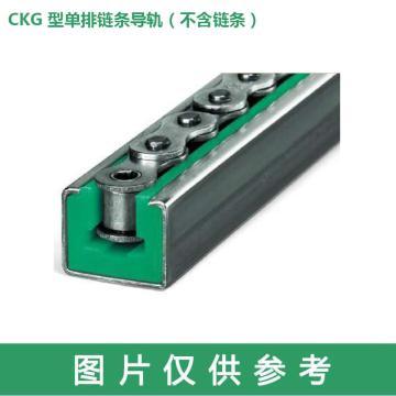 梅富Murtfeldt CKG型單排鏈條導軌,鏈號12B,長度2000(不含鏈條,需單獨購買C10鋼槽),221420006