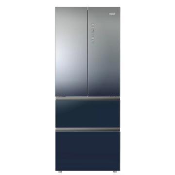 海爾 412L四門法式多門冰箱,BCD-412WDCEU1,風冷無霜,干濕分儲+一級變頻+精控微風道+全空間保鮮