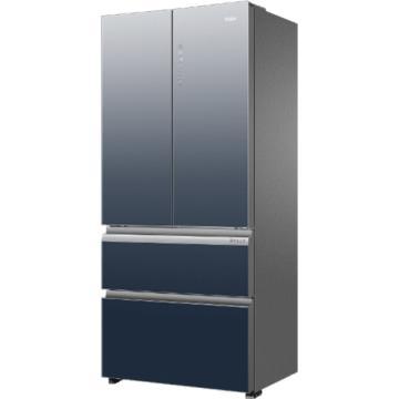 海尔 503L四门法式多门冰箱,BCD-503WDCEU1,风冷无霜,智能双变频,一级能效,干湿分储