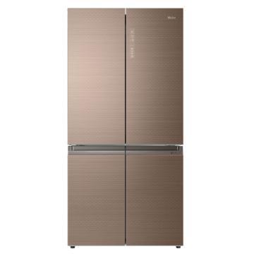 海尔 658L十字对开门双变频冰箱,BCD-658WDGU,风冷无霜,干湿分储