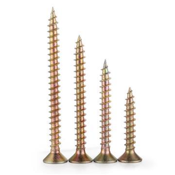 西域推薦 木螺釘/干壁釘,5.0X50,彩鋅,300個/盒
