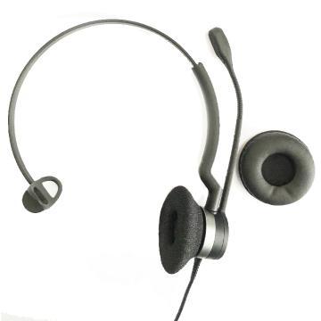 捷波朗(JABRA)BIZ 2300 MONO 單耳話務員耳機 電話客服耳麥降噪 連桌面話機