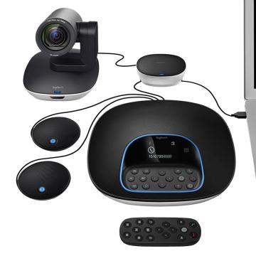 羅技(Logitech) CC3500e GROUP 視頻會議系統 攝像頭+STMP100擴展麥克風