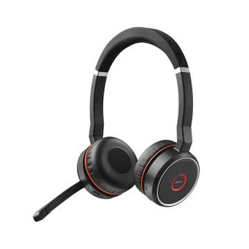 捷波朗(JABRA)EVOLVE 75 USB 無線耳機 音樂耳麥降噪可調節音量大小 連電腦/手機