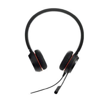 捷波朗(JABRA)EVOLVE 30 USB 雙耳話務員耳機 電話客服耳麥降噪可調節音量大小 連電腦
