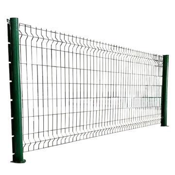 拓疆 桃形柱護欄網,絲徑尺寸4.0 網片尺寸1.8×30mm 孔徑50-50mm 間距3m,高度1.8m 限黑吉遼