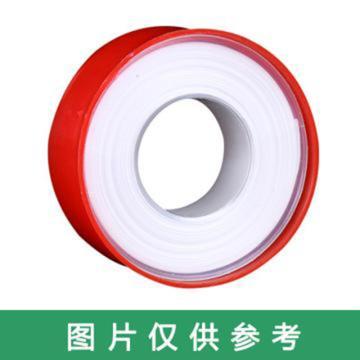 西域推荐 聚四氟乙烯生料带,厚0.10×宽18mm,12m,不带油