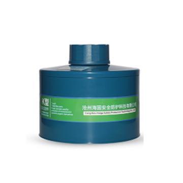 海固 K型4號濾毒罐,P-K-3
