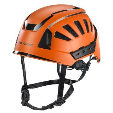 斯泰龙泰克SKYLOTEC 安全帽,PC/ABS壳体,带反光条,BE-391-橙色