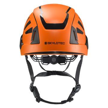 斯泰龙泰克SKYLOTEC 安全帽,PC/ABS壳体,抗电压1000V,带反光条,BE-393-橙色