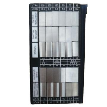 沃戈尔 表面粗糙度比较样块 30块(不含第三方检测费),65 10011