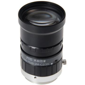 大恒图像 视觉相机镜头,HN-7528-2M-C2/3XF2.8/75mm