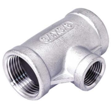 锐阁流体不锈钢异径三通,3/4'x1/2',316L,200bar