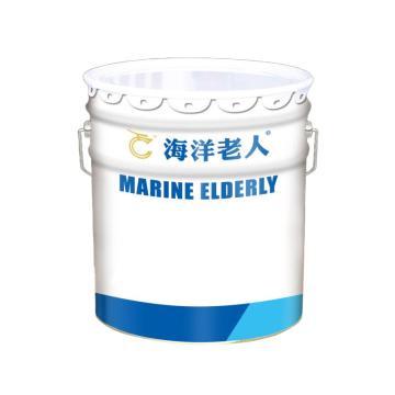海洋老人 無溶劑自流平地坪漆面漆,煙灰,20kg+5kg(固化劑)/組