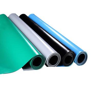 INVOUS 防滑耐油红胶板,厚度:3mm,宽度:1M