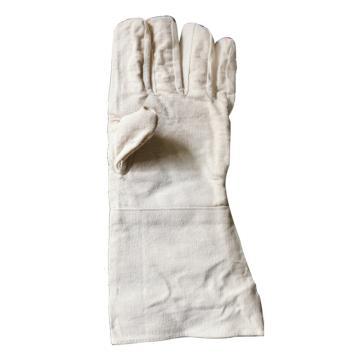西域推荐 双层加长加厚帆布手套,35cm*15cm