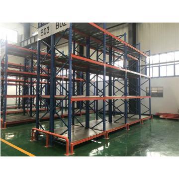 至腾 重型货架,长6000×宽900×高4800mm,5层,3个单元为1组,每层额定载荷为6000kg