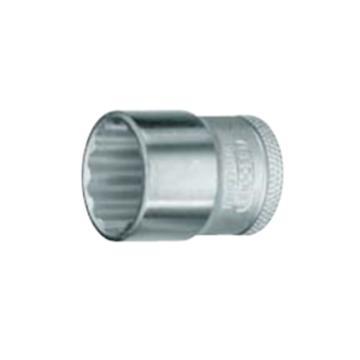 """吉多瑞 3/8""""(10mm)系列十二角公制套筒,11mm,6230670"""