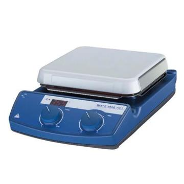 IKA磁力搅拌器主机,C-MAG HS7,带加热,温控范围:50-500℃,搅拌量:10L