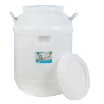 8113820西域推薦塑料桶,圓型50L
